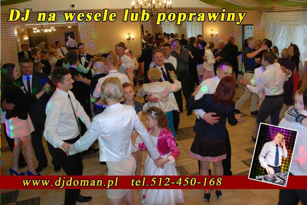 Wodzirej Sandomierz na wesele, poprawiny