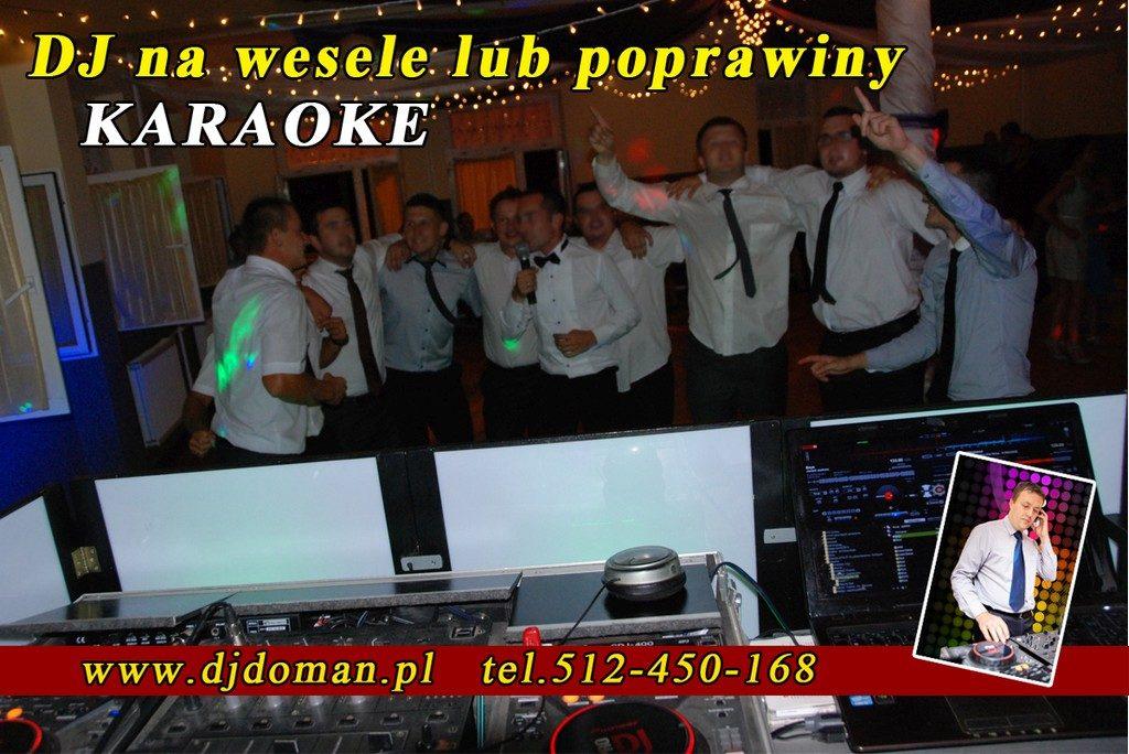 Karaoke na poprawinach, weselu Rzeszów