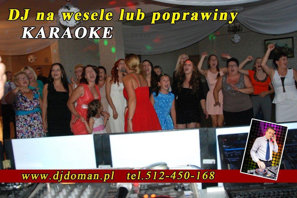 karaoke na weselu, poprawiny Zamość
