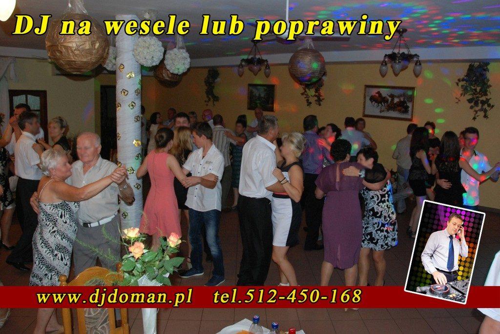 Jarosław dj na poprawiny, wesele