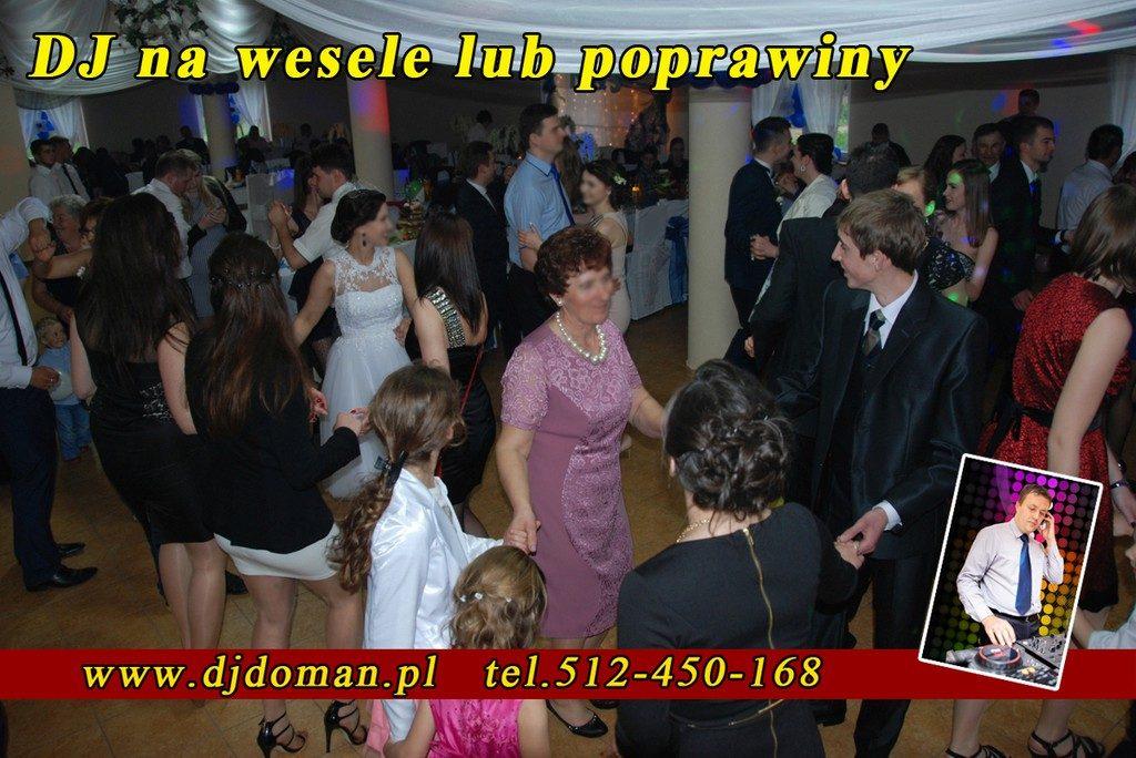 Dj Wodzirej Leżajsk wesele, poprawiny