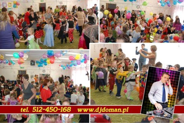 Choinkowa zabawa w przedszkolu z didżejem Lubelskie