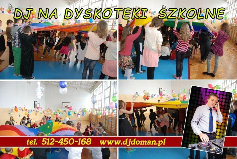 Zabawy dla dzieci w przedszkolach szkołach Dj Doman